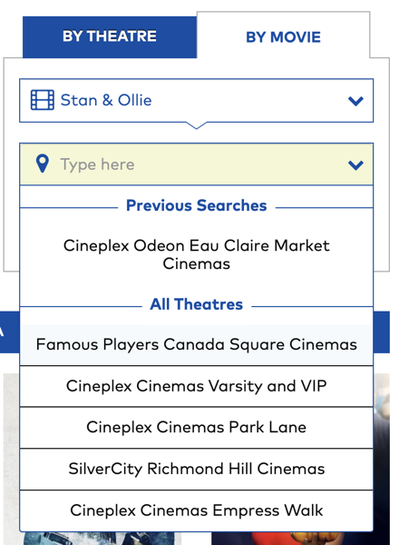 Movie Search Results