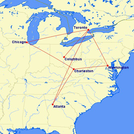 Flight Routes