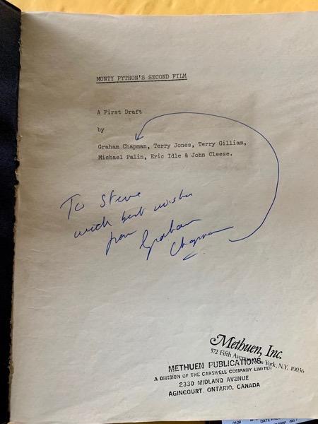 Autographed Script