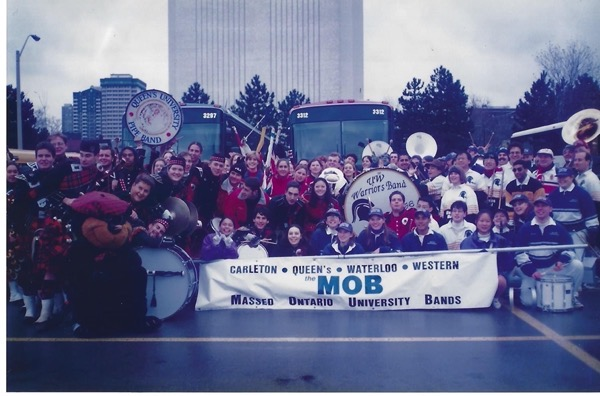 The 1996 Massed Ontario University Bands